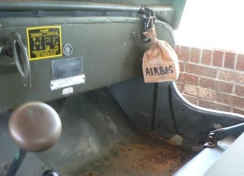 Asta da... Airbag!!!