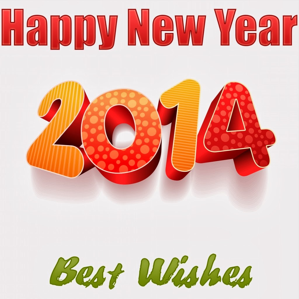Happy New year 2014 Wishes Wallpaper