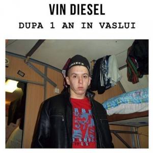vin diesel in vaslui