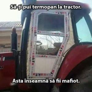 termopan la tractor